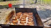 印度人这次吃大餐,用100只鸡做了一顿饭,看看他们怎么做的