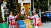 军运会火炬传递在武汉进行 共享友谊同筑和平