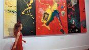 """国外熊孩子经常开画展,被称""""当代毕加索"""",你家熊孩子会什么?"""