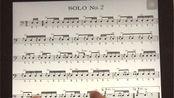 美国军鼓150条solo No.2(示范)