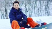 刘若英晒儿子滑雪帅气背影 发文讲述全程经过幸福满满