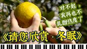 【音乐食堂】钢琴演奏《冬眠》配上《陈皮鸡汤》~~太养生了啊!!