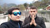 印度留学生四川雅安看大熊猫!