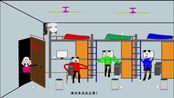 【沙雕动画】论当代大学新生面对学长与学姐推销的两种态度