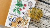 [my flowers113]发发的手帐拼贴——TN护照拼贴本翻翻看/1.0&2.0一次性放送