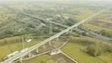 交通40年:日新月异的江苏省淮安区大交通建设,路网纵横,长路似虹
