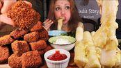 【dm姐】麻辣炸鸡块和巨型奶酪米糕慕克邦+食谱(素食)(2020年2月3日15时26分)