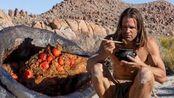野外求生:查德·祖伯在沙漠中的原始橡子粥早餐