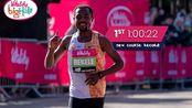 60:22,平均每公里2分51秒!贝克勒英国大半程马拉松夺冠。
