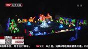 [北京您早]中国自贡彩灯点亮法国小城冬夜