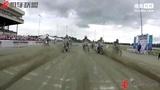 【机车联盟】AMA专业平坦跑道-公路越野比赛:约翰尼·路易斯的相机自拍