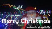 The Boulevard Ivanhoe Lights 2019|Merry Christmas|墨尔本红色圣诞|Ivanhoe Xmas灯展|圣诞节快乐