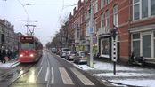 【軌道展望】荷蘭公共交通管理局HTM普通(各停)Line 12(Loosduinseweg→Station HS)GTL8電車2019.1.2