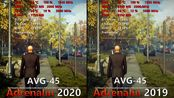 Radeon Adrenalin 2020 19.12.3 vs Adrenalin 2019 18.12.3 RX 590 AMD新驱动两年同比性能增长