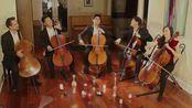 【Seattle Cello Academ】White Winter Hymnal for 5 Cellos opb. Fleet Foxes
