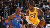 【原声】23日NBA十佳球 戴维斯连线詹姆斯波尔津吉斯遮天大帽