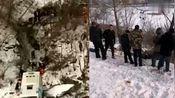 吉林通化载39人客车坠落江边已致4人死亡多人受伤目前紧张救援