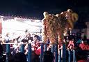 2014年广东省梅州市兴宁县新陂镇先声村仓丰围彭氏家族十三赏灯舞狮(3)