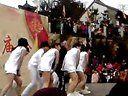 2013烟台毓璜顶庙会cos江南style