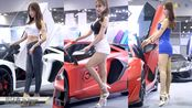 4k超清美女车模 车展