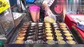 美女街头卖特色小吃,2块钱5个,食客:嫩嫩香香的!