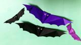 万圣节蝙蝠的折纸方法,如何折叠蝙蝠