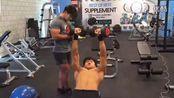 26[推胸]健身 减脂 塑形 器械 增肌 抗阻 私教 韩国健身房 healthTV 无字幕_高清