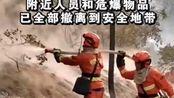 4月14日17时20分,西藏林芝发生森林火灾。
