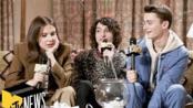 Millie Bobby Brown, Finn Wolfhard & Noah Schnapp Answer 'Stranger Things 3' Qs