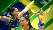 巴西女排名将主攻、两届奥运冠军杰奎琳.卡瓦霍(Jaqueline Carvalho)