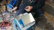 自己动手组装12V45安时锂电池!先来制作一个不锈钢外壳
