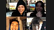 【全民造星2】2019.11.30 B4組成員 June(梁釗峰)、Justin(陳樂)、Eagle(陳天翱) ig live