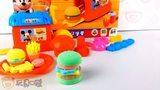 迪士尼汉堡屋 美食大制作 3D打印彩泥手工