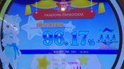 【 MAIMAI】【检讨向手元】 PANDORA LARADOXXX[12+] 外录96.17% player:猫耳