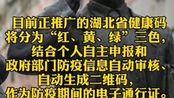 """#最新:湖北省内必需返岗人员通行证明!全省通用!""""绿码""""这样申请。#疫情全知道"""