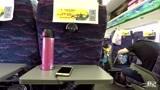 列车开往广西桂林的路上,感谢大哥和大姐一路陪我聊天