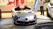 梅赛德斯·SLR·斯特林·莫斯在摩纳哥开车