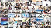 z5 简洁大气可添加81张照片公司企业图片墙照片墙展示年会活动发展历程宣传片视频ae模板