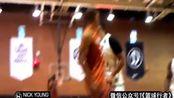 詹姆斯-哈登,布兰登詹宁斯在肯达尔·詹娜面前显示出了leag在 街头篮球教学