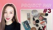 2019 Project Pan Update#3  铁皮计划第3阶段进度+3个化妆品空瓶