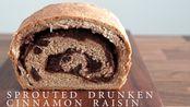 【Sensible Plate】红酒风味肉桂面包卷 食谱分享 | Sprouted Drunken Vegan Cinnamon Raisin Bread
