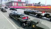 朝鲜大阅兵中出现的战车