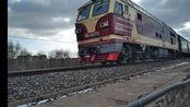 【中国铁路】看一眼少一眼的2068次列车(承德—沈阳)通过锦承线132km处大桥,本务:沈局锦段 DF4DK 3078