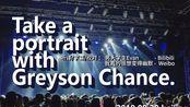 【自制中字】灰森Greyson Chance 北京演唱会全场 / 近距离稳定拍摄 Portraits World Tour Beijing 9.29