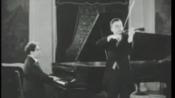 Beethoven Kreutzer Sonata Zimbalist-Bauer Rec.1926 最早的有声录像之一