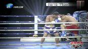 无差级比赛,中国选手张孝辉两次低扫直接将泰国拳王KO!