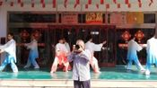 """""""庆国庆,迎重阳""""——济南市济阳区老年大学""""银龄韶韵""""艺术团走进济阳阳光福缘老年公寓公益慰问演出:(7)艺术太极拳/摄制:孙延玉"""