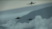 12年前的空战游戏就做出了大场面,友军随叫随到,甚至还有战区系统和电子战机! 2P原创机+电磁炮演示。