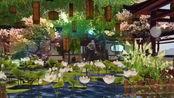 【楚留香/一梦江湖家园府邸装修】七级晴川渡 仿园林+假山布局