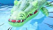 马树的奇趣秀 :水上公园出现大鳄鱼,超级马树怎么办啊